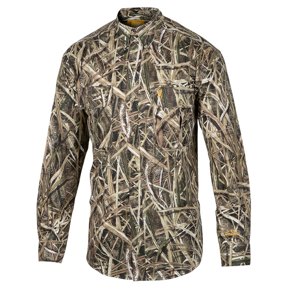 Men's Wasatch Camo Button-Up Hunting Shirt