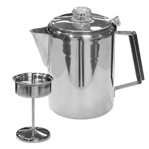 9-Cup Stainless Steel Coffee Pot  - view 1