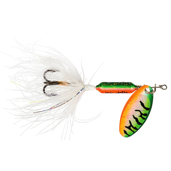 Original Rooster Tail Spinning Lure - 1/8 oz. Tinsel Watermelon Tiger