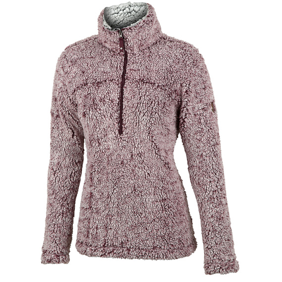 Women's Frosted Pile 1/4 Zip Pullover