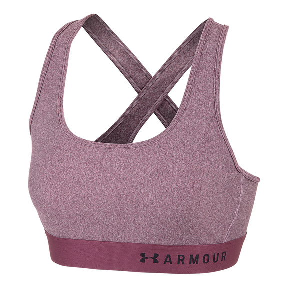 Women's Armour Crossback Heather Sports Bra