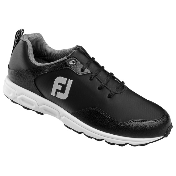 Athletic Spikeless Men's Golf Shoes - Black/Gray