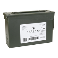 Federal 5.56 NATO XM193 420 Round Ammo Can