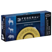 Federal Power-Shok .243 Win. Rifle Ammunition