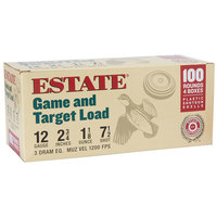 Estate Cartridge 12 GA. Game and Target Loads - 100 Round Pack