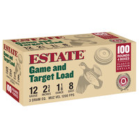 Estate Cartridge Game and Target Load 12 GA. Bulk Pack