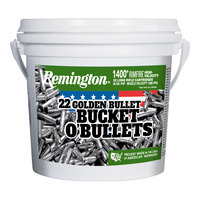 Remington .22LR Golden Bullet Bucket O' Bullets - 1400 Rimfire Rounds