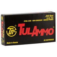 Tulammo .223 Remington Ammo - 20 Rounds