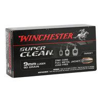 Winchester SuperClean 9mm Lead Free Ammunition