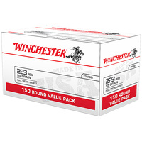 Winchester .223 Remington Ammo Value Pack - 150 Rounds