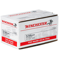 Winchester 5.56 NATO Ammo Value Pack - 150 Rounds