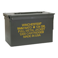 Winchester 9mm NATO 1,000-Round Ammo Can