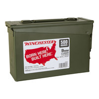 Winchester 9mm Luger Ammo Can - 500 Rounds