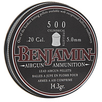Benjamin Cylindrical .20 Pellets - Box of 500