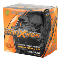 Draxxus Basic Training Paintballs - 1,000 Count