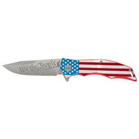 M-Tech USA We the People American Flag Knife