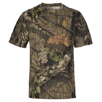 Browning Men's Wasatch Camo Short-Sleeve Shirt
