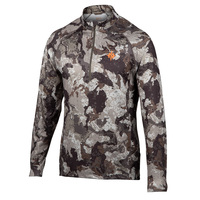 Nomad Men's Transition 1/4 Zip Camo Fleece