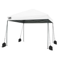 QuikShade Expedition EX100 10'x10' Straight-Leg Canopy with Weight Bags