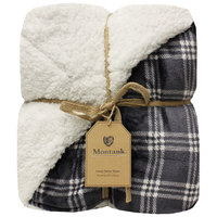 Northpoint Trading Montauk Luxury Berber Throw Blanket