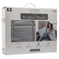 Je T'adore 12-lb. Cotton Weighted Blanket