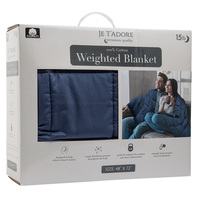 Je T'adore 15-lb. Cotton Weighted Blanket