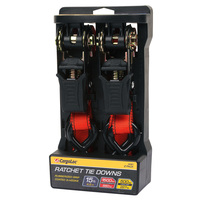 Cargoloc 15' Ratchet Tie Downs - 2-Pack