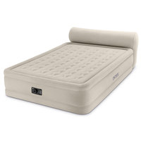 Intex Queen Dura-Beam Headboard Airbed with Built-In Electric Pump
