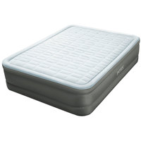 Intex Queen PremAire Dura-Beam Elevated Airbed with Built-In Electric Pump