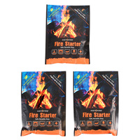 Stansport InstaFire Fire Starter - 3-Pack