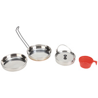 Texsport Stainless-Steel Mess Kit