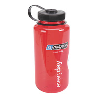 Nalgene Tritan Wide Mouth 1-Qt. Water Bottle - Red