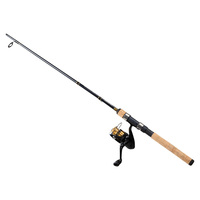 Daiwa D Shock DSK-B Reel and Fiberglass Rod Spin Combo