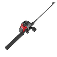 Zebco 202 Spincast Combo with Tackle
