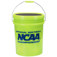 Worth 5-Gallon Bucket with 18 NCAA 12
