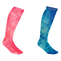 Sof Sole Tie-Dye Women's Knee-High Socks - 2-Pack