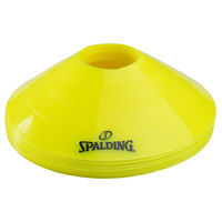Spalding Training Disc Cones - 10-Pack