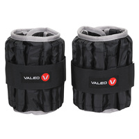 Valeo Pair of Adjustable Ankle/Wrist Weights