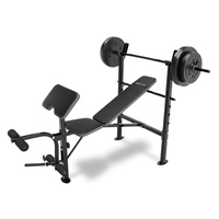 Competitor Bench and 80-lb. Weight Set Combo