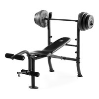 Gold's Gym XR 8.1 Combo Weight Bench with 100-lb. Weight Set