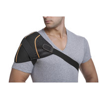 Copper Fit Rapid Relief Shoulder Support Wrap with Hot/Cold Gel Pack