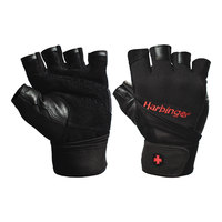 Harbinger Pro Wrist Wrap Weightlifting Gloves