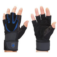 Harbinger Training Grip WristWrap Gloves