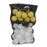 JEF World of Golf Practice Golf Balls in Mesh Storage Bag - 36-Pack