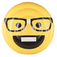 Aqua Leisure Nerd Emoji Pool Float