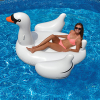 Swimline Giant Inflatable Swan