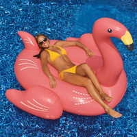 Swimline Giant Inflatable Flamingo
