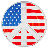 Swimline Americana Peace Island Extra-Large Pool Float