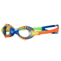 TYR Youth's Swimple Tie Dye Spikes Swim Goggles