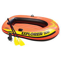Intex Explorer 300 3-Person Inflatable Boat Set